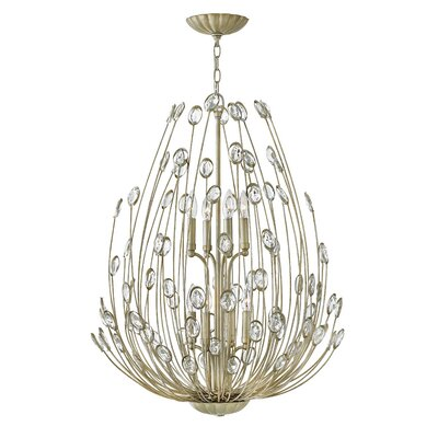 Kenton 8-Light Waterfall Chandelier