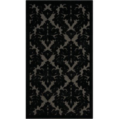 Hartz Gray/Black Area Rug Rug Size: Rectangle 2'2