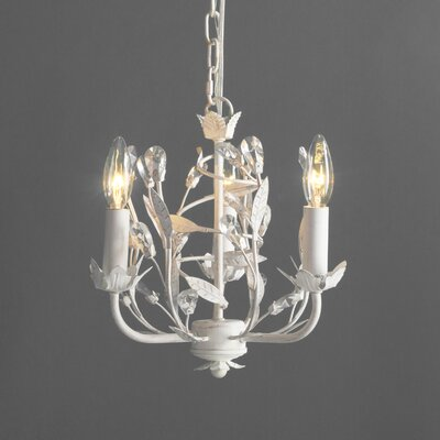 Whittingham 3-Light Crystal Chandelier