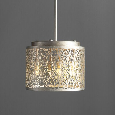Fauna 4-Light Drum Pendant Finish: Palladium Gold