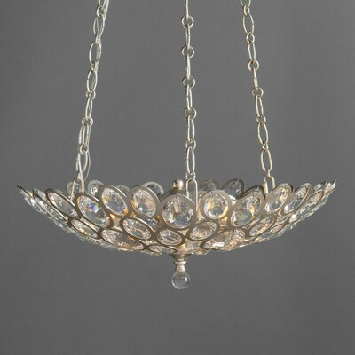 Rhode 3-Light Crystal Chandelier