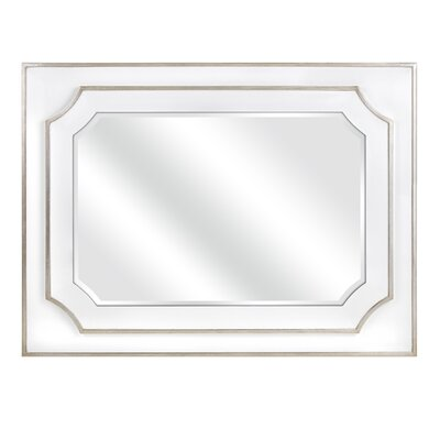 Rectangle White Wall Mirror