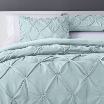 Bostic Comforter Set Size: Twin, Color: Light Blue