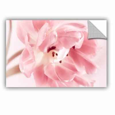 Rosy Pink Tulip IV Removable Wall Decal Size: 08