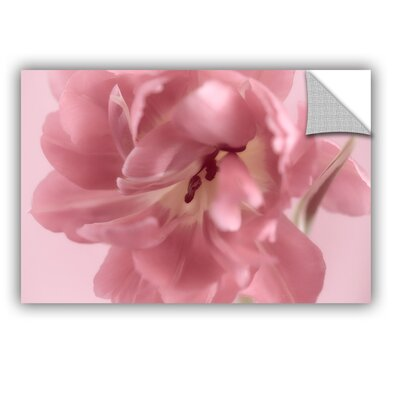 Rosy Pink Tulip I Removable Wall Decal Size: 12