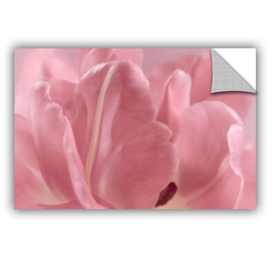 Rosy Pink Tulip II Removable Wall Decal Size: 12