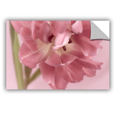 Rosy Pink Tulip III Removable Wall Decal Size: 12