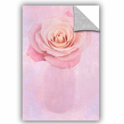 Rose II Removable Wall Decal Size: 12