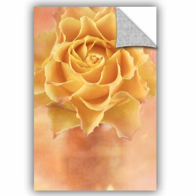 Rose I Removable Wall Decal Size: 12