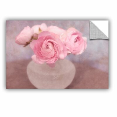 Shabby Elegance Flower Still Life Removable Wall Decal Size: 08