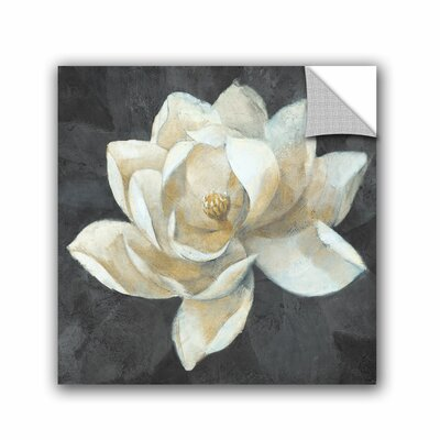 Windham Majestic Magnolia Neutral Square Wall Decal Size: 10