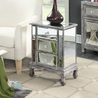 Wiscasset End Table Finish: Weathered Gray