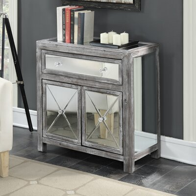 Wiscasset Mirrored Cabinet Finish: Weathered Gray