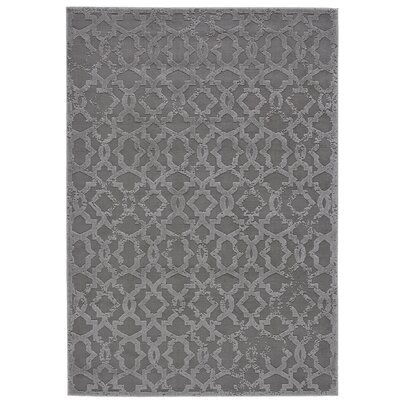 Chevalier Silver Area Rug Rug Size: Rectangle 5 x 8