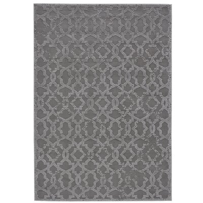 Chevalier Silver Area Rug Rug Size: Rectangle 8 x 11