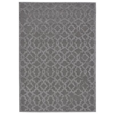 Chevalier Silver Area Rug Rug Size: Runner 21 x 71