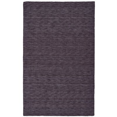 Diandra Hand-Loomed Purple Area Rug Rug Size: 23 x 39