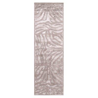 Wexler Handmade Gray Area Rug Rug Size: Runner 26 x 8