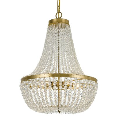 Ivymore 6-Light Crystal Chandelier