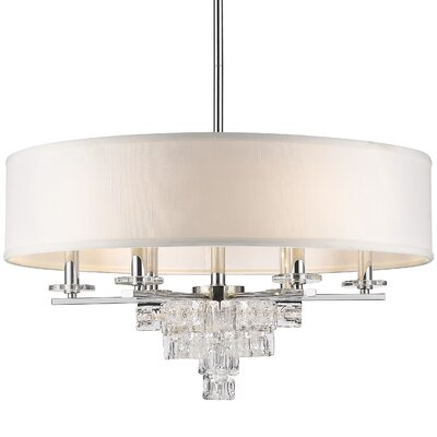 Claridge 6-Light Drum Chandelier