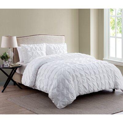 Grange-over-Sands Duvet Set Color: White, Size: King