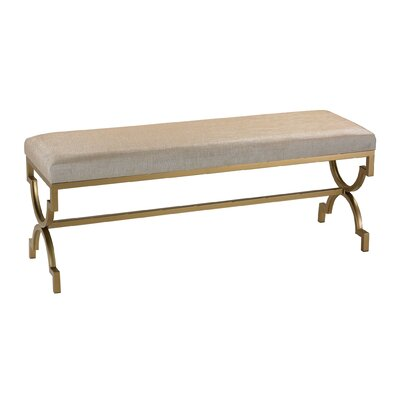 Bisset Metal Double Entryway Bench
