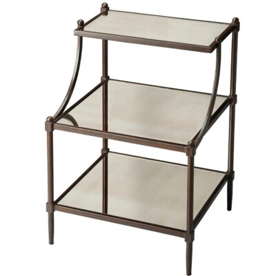 Sasheer End Table Finish: Light Bronze