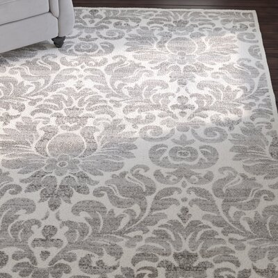 High Wycombe Gray/Ivory Area Rug