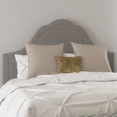 Gallant Upholstered Panel Bed Size: King, Color: Twill Grey