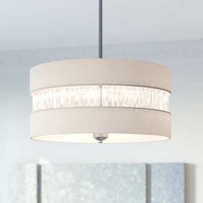 Ethelinde 3-Light Drum Pendant