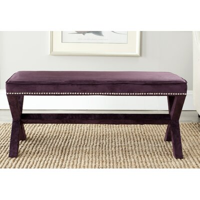 Conner Nailhead X Bedroom Bench