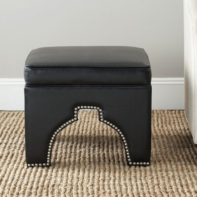 Claribel Ottoman Upholstery: Black