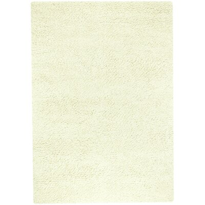 Lorain Hand-Woven Ivory Area Rug Rug Size: 8' x 11'