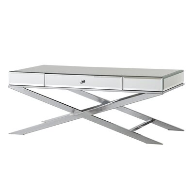 Desid�rio Coffee Table Finish: Chrome