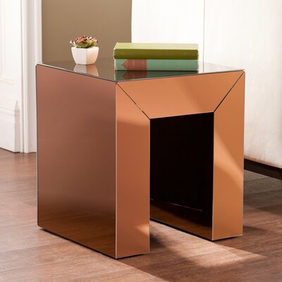 Kaliyah End Table Color: Bronze
