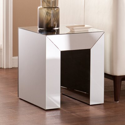 Hepburn End Table Finish: Silver