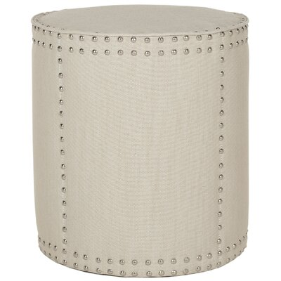 Astra Ottoman Upholstery: Off White