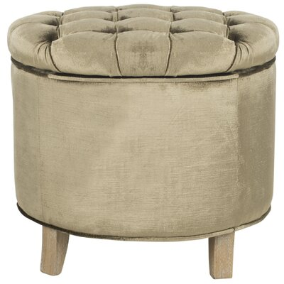 Hargrave Storage Ottoman Upholstery: Antique Sage