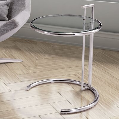 Arden End Table Color: Chrome