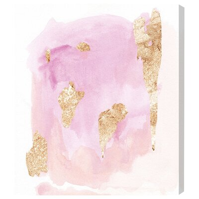 Pink Wednesdays Painting Print on Wrapped Canvas