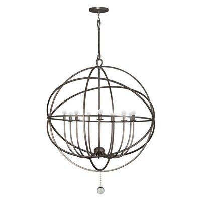 Bridger 9-Light Candle-Style Chandelier Finish: English Bronze