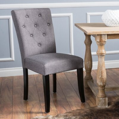 Bowman Side Chair Color: Mixed Brown