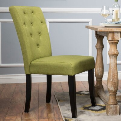 Bowman Side Chair Color: Apple Green