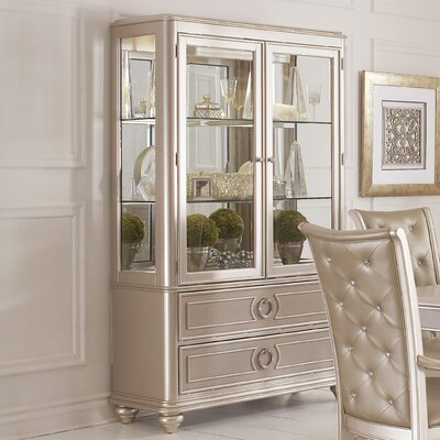 Banyan Lighted China Cabinet