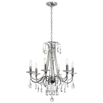 Oceane 6-Light Crystal Chandelier