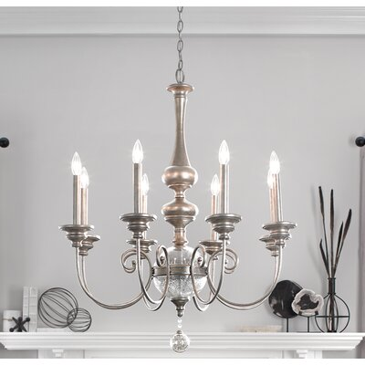 Blakely 8-Light Candle-Style Chandelier