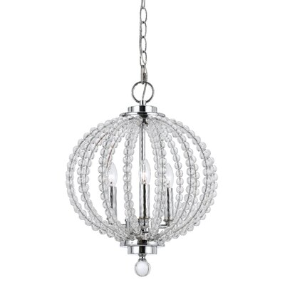 Lorelei 3-Light Globe Pendant