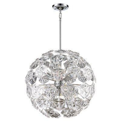 Burton 6-Light Globe Pendant