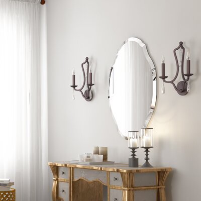 Cromer Artisan Frameless Accent Wall Mirror