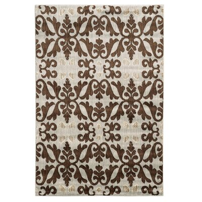 Margerite Ivory Area Rug Rug Size: Rectangle 8 x 10